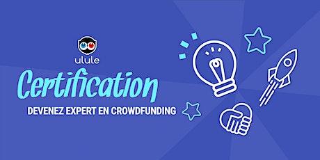 Certification Ulule Paris mercredi 9 décembre 2020 tickets