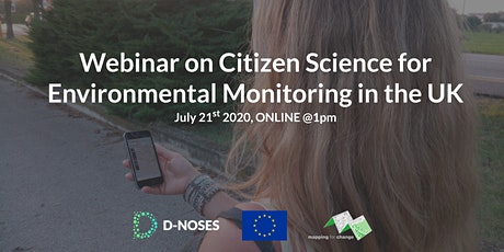 Citizen Science for environmental monitoring tickets