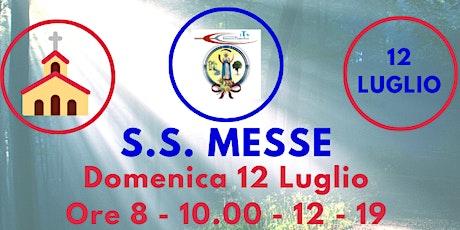 S.S. Messe DOMENICA 12 Luglio biglietti