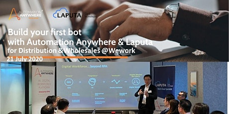 """""""Build-your-1st RPA-bot"""" Workshop  for Distribution & Wholesale industries tickets"""