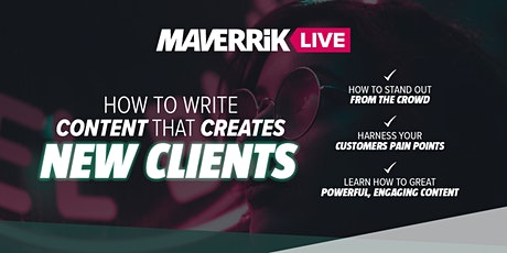 How To Write Content That Creates New Clients tickets