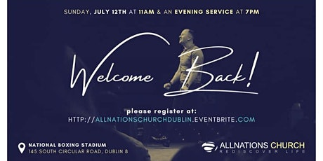 All Nations Church  Dublin Sunday Evening Service tickets