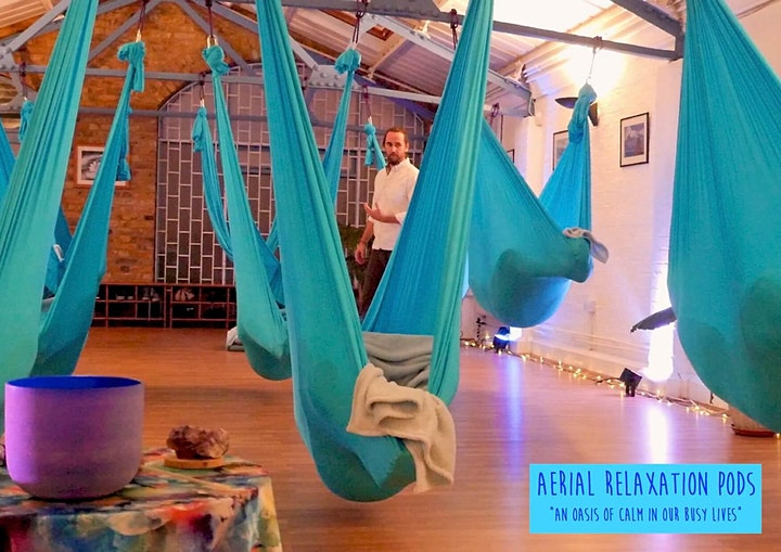 7.15pm-8.30pm Aerial Relaxation Pods… with live ambient music! image