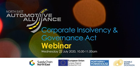 Corporate Insolvency & Governance Act with Womble Bond Dickinson tickets