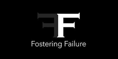 Fostering Failure: creative leadership webinar-workshop tickets