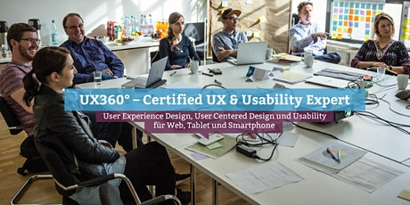 UX360° – Certified UX & Usability Expert, Hamburg Tickets