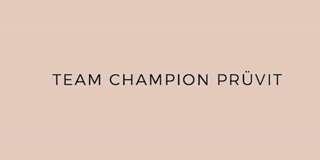 Team Champion Pruvit tickets