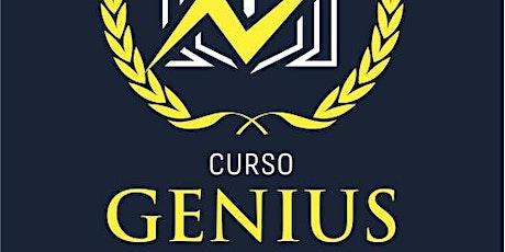 Presentación Curso Genius entradas