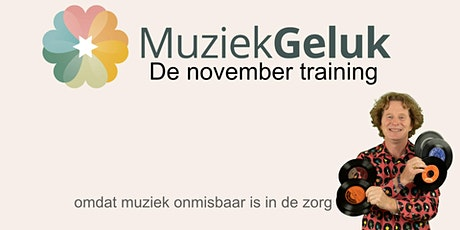 November training van MuziekGeluk tickets