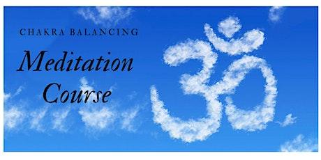 Chakra Balancing Meditation for Stress & Healing tickets