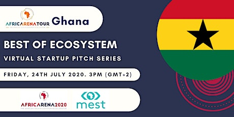 Virtual Startup Pitch Series 2020 - Ghana Ecosystem tickets