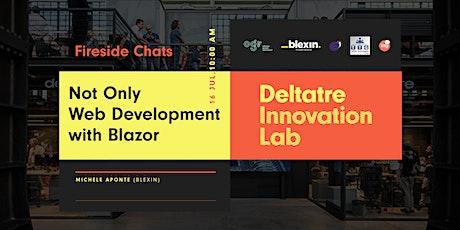 Fireside Chats: Not Only Web Development with Blazor bilhetes