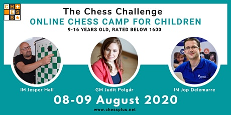 Online Chess Camp for Children - The Chess Challenge billets