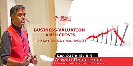 Business Valuation Amid Crisis with Aswath Damodaran tickets