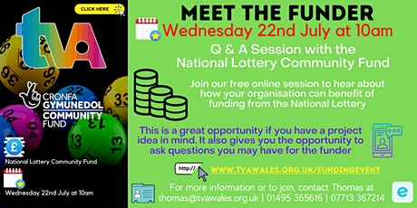 Meet the Funder - National Lottery tickets
