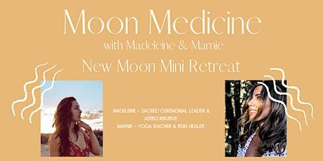 Moon Medicine - New Moon Mini Retreat tickets