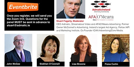 Advertising Matters. Views from the Frontline. 1pm July 15th tickets