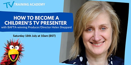 How to Become A Children's TV Presenter - Live Q & A session tickets