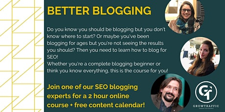Better Blogging tickets
