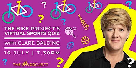 Clare Balding presents the Bike Project's Sports Spectacular virtual quiz tickets