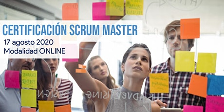 Certificación en SCRUM MASTER entradas