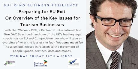 EU Exit and Tourism tickets