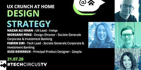 UX Crunch At Home: Design Strategy tickets