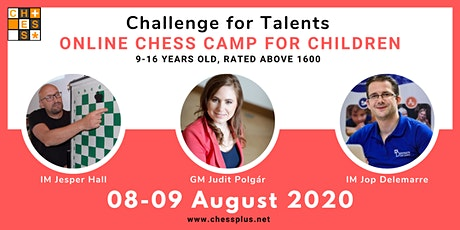 Online Chess Camp for Children - Challenge for Talents billets