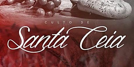 CULTO DOMINGO - 10 HRS ingressos