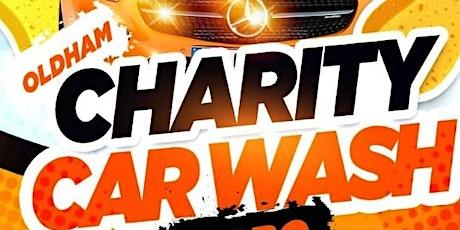 Charity Car Wash - Oldham (Sun 12th July| 12PM - 6 tickets