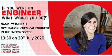 ENGINEER EVENT: Yasmin Ali, Chemical Engineer in the Energy Sector tickets