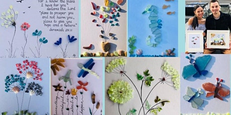 Fun Beach Glass Collage Arts and Crafts Night with Denyse Artist at Heart tickets