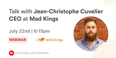 Le Wagon Talk with Jean-Christophe Cuvelier, CEO at Mad Kings tickets