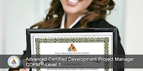 CDPM-I: Advanced Certified Development Project Manager, Level 1 (S5) tickets