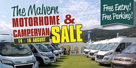 The Malvern Motorhome & Campervan Sale tickets