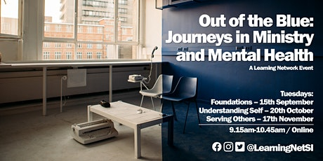 Out of the Blue: Journeys in Ministry & Mental Health tickets