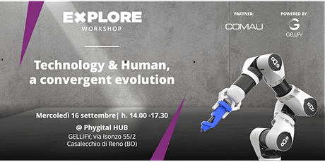 Explore Workshop: Technology & Human,  a convergent evolution biglietti