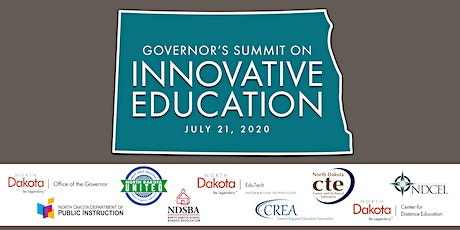 2020 Governor's Summit on Innovative Education tickets