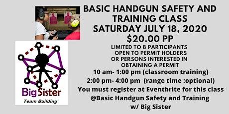 Basic Handgun Safety and Training Class tickets