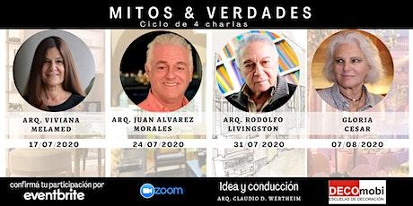 MITOS & VERDADES Arquitectxs e Interioristas contando experiencias en vivo. entradas