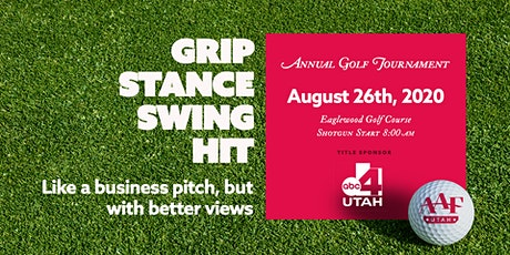 AAF-UT 2020 Annual Golf Tournament tickets
