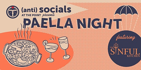 Paella Night featuring The Sinful Kitchen! tickets