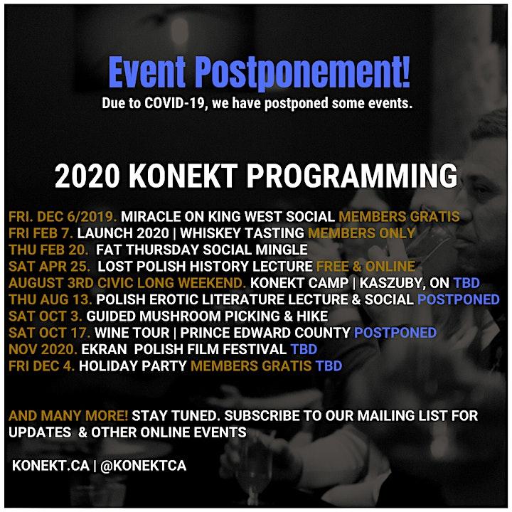 2020/2021 - Membership - Konekt Polish Canadian Professionals image