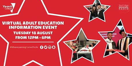 Yeovil College Virtual Adult Education Information Event - August 2020 tickets