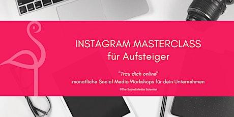 Instagram Masterclass für Aufsteiger Tickets