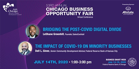 CBOF53 AT BUSINESS SMART WEEK 7/14 tickets
