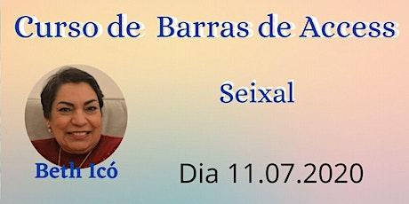 Curso de Barras de Access bilhetes