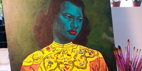 Tretchikoff's Green Lady Painting Class (BYOB) tickets