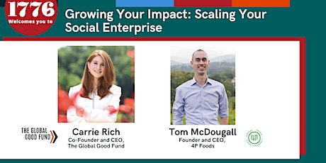 Growing Your Impact: Scaling Your Social Enterprise tickets
