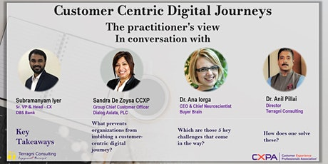 Customer Centric Digital Journeys tickets